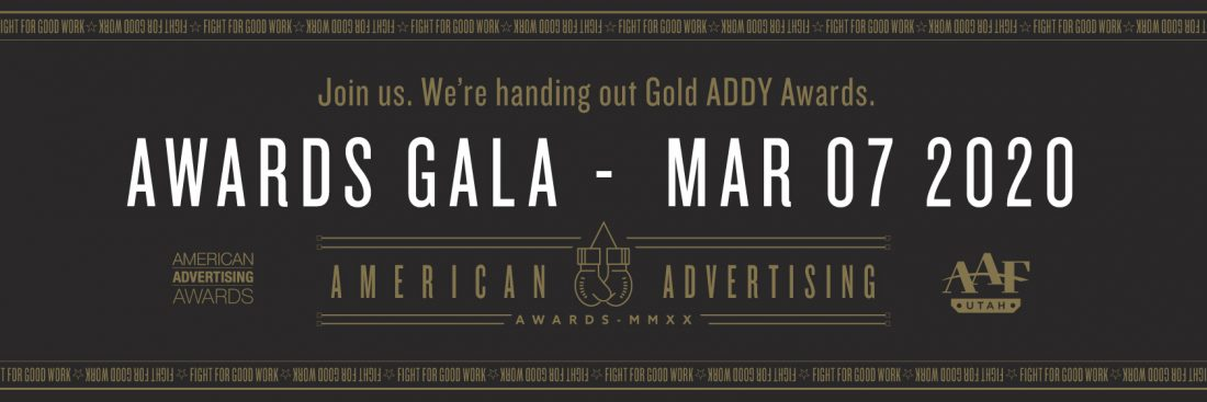 AAF Utah Addys 2020 Awards Gala